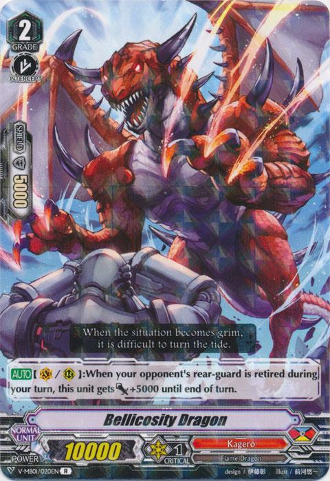 Bellicosity Dragon - V-MB01/020EN - R