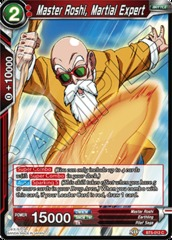 Master Roshi, Martial Expert - BT5-012 - C - Foil on Channel Fireball