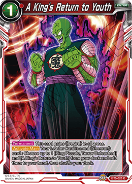 A Kings Return to Youth - BT5-025 - C - Foil