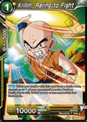 Krillin, Raring to Fight - BT5-085 - C - Foil