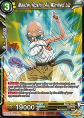 Master Roshi, All Warmed Up - BT5-087 - UC - Foil