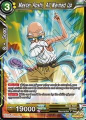 Master Roshi, All Warmed Up - BT5-087 - UC - Foil