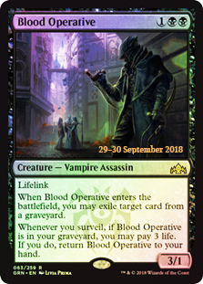 Blood Operative - Foil - Prerelease Promo