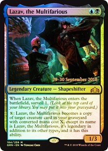 Lazav, the Multifarious - Foil - Prerelease Promo