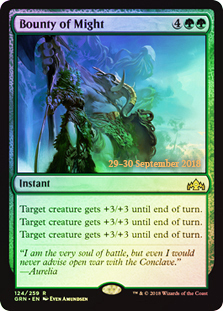 Bounty of Might - Foil - Prerelease Promo