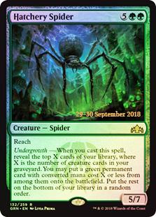 Hatchery Spider - Foil - Prerelease Promo
