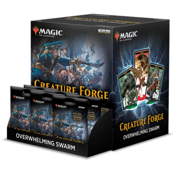 Magic The Gathering - Creature Forge - Overwhelming Swarm (1x Booster)