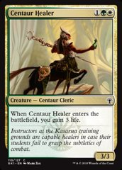 Centaur Healer on Channel Fireball