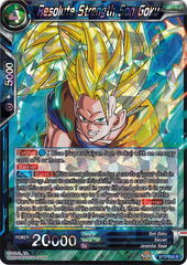 Resolute Strength Son Goku - BT5-030 - R