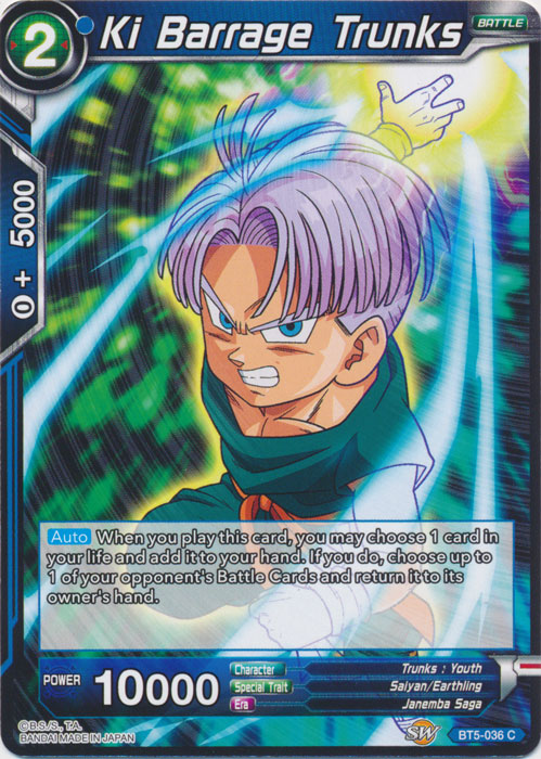 Ki Barrage Trunks - BT5-036 - C