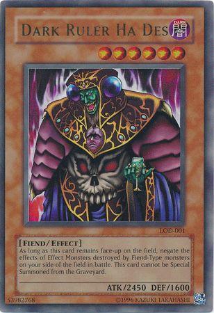 Dark Ruler Ha Des - LOD-001 - Ultra Rare - Unlimited Edition