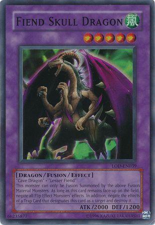 Fiend Skull Dragon - LOD-039 - Super Rare - Unlimited Edition