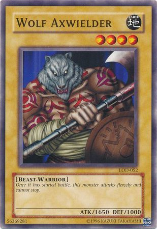 Wolf Axwielder - LOD-052 - Common - Unlimited Edition