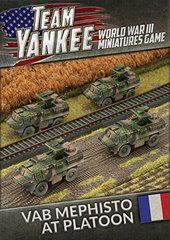 French: VAB Mephisto Anti Tank Platoon