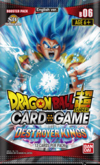 Dragon Ball Super TCG - Destroyer Kings Booster Pack (B06)