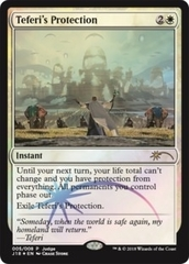 Teferi's Protection - Foil DCI Judge Promo