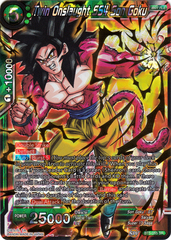 Twin Onslaught SS4 Son Goku - BT5-055 - SR