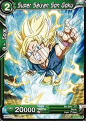 Super Saiyan Son Goku (Green) - BT5-056 - C - Foil