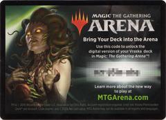MTG Arena Code Card - Vraska Planeswalker Deck