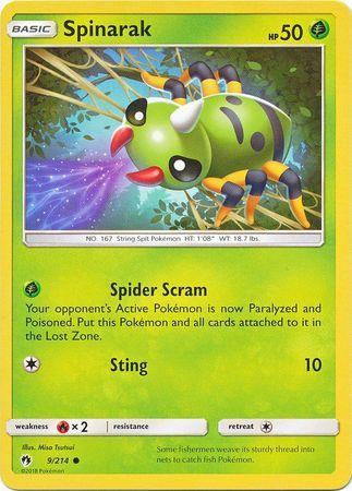 Spinarak - 9/214 - Common