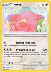 Chansey - 152/214 - Common on Channel Fireball