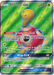 Shuckle GX - 195/214 - Ultra Rare - Full Art