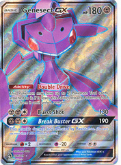 Genesect GX - 204/214 - Ultra Rare - Full Art