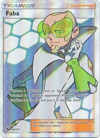 Faba - 208/214 - Full Art Ultra Rare
