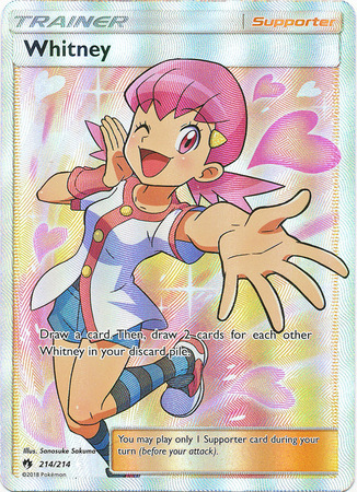Whitney - 214/214 - Ultra Rare - Full Art