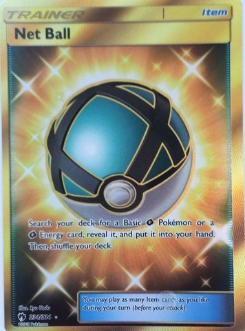 Net Ball - 234/214 - Secret Rare