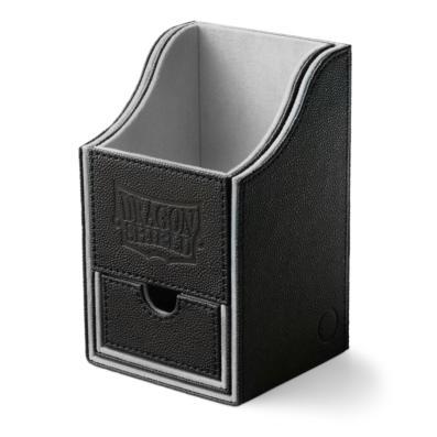 Dragon Shield: Black/Light Grey Nest 100+