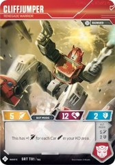 CliffJumper // Renegade Warrior - 2018 SDCC Promo