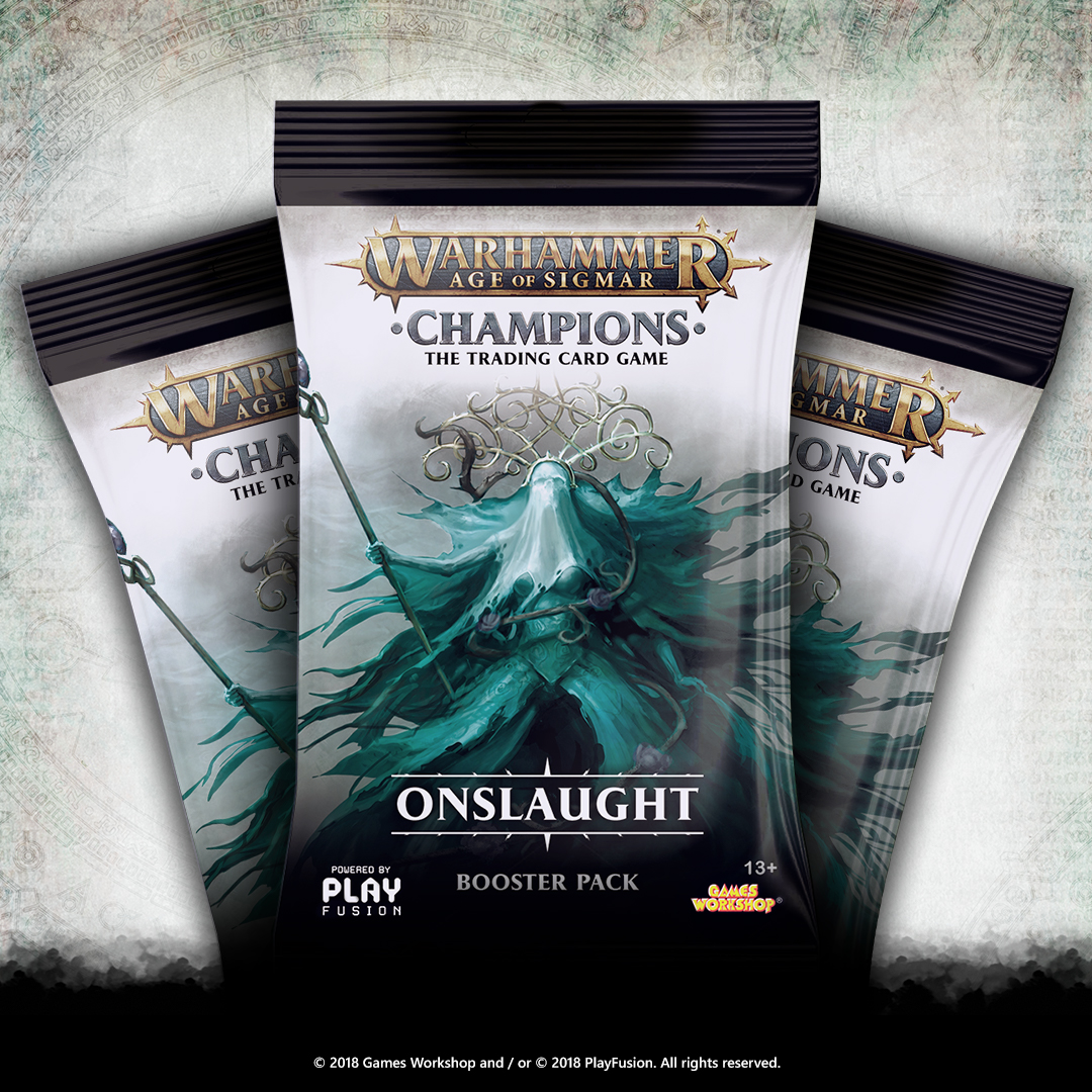 Warhammer Age of Sigmar Champions - Onslaught Booster Pack