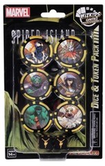 Secret Wars Battleworld Dice & Token Pack