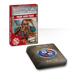 Blood Bowl: Dwarf Team Cards