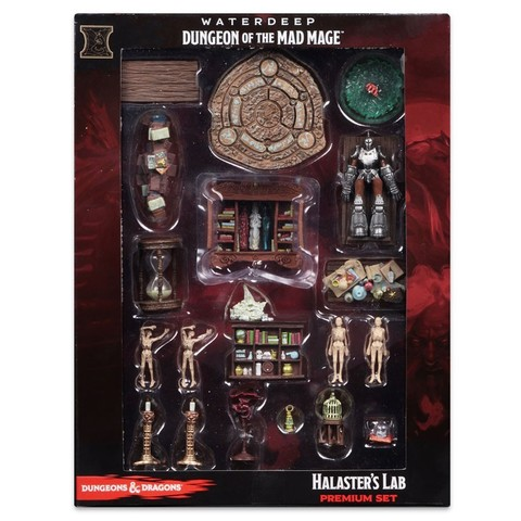 Icons of the Realms - Waterdeep: Dungeon of the Mad Mage - Premium Set - Halaster's Lab