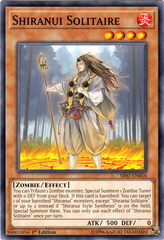 Shiranui Solitaire - SR07-EN018 - Common - 1st Edition on Channel Fireball