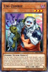 Uni-Zombie - SR07-EN019 - Common - 1st Edition