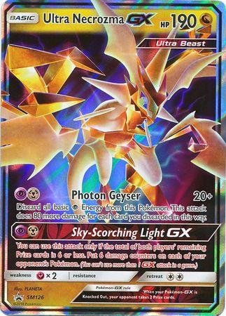 Ultra Necrozma GX - SM126 - Promo