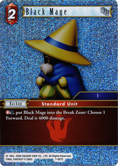Black Mage - 7-007C - Foil on Channel Fireball