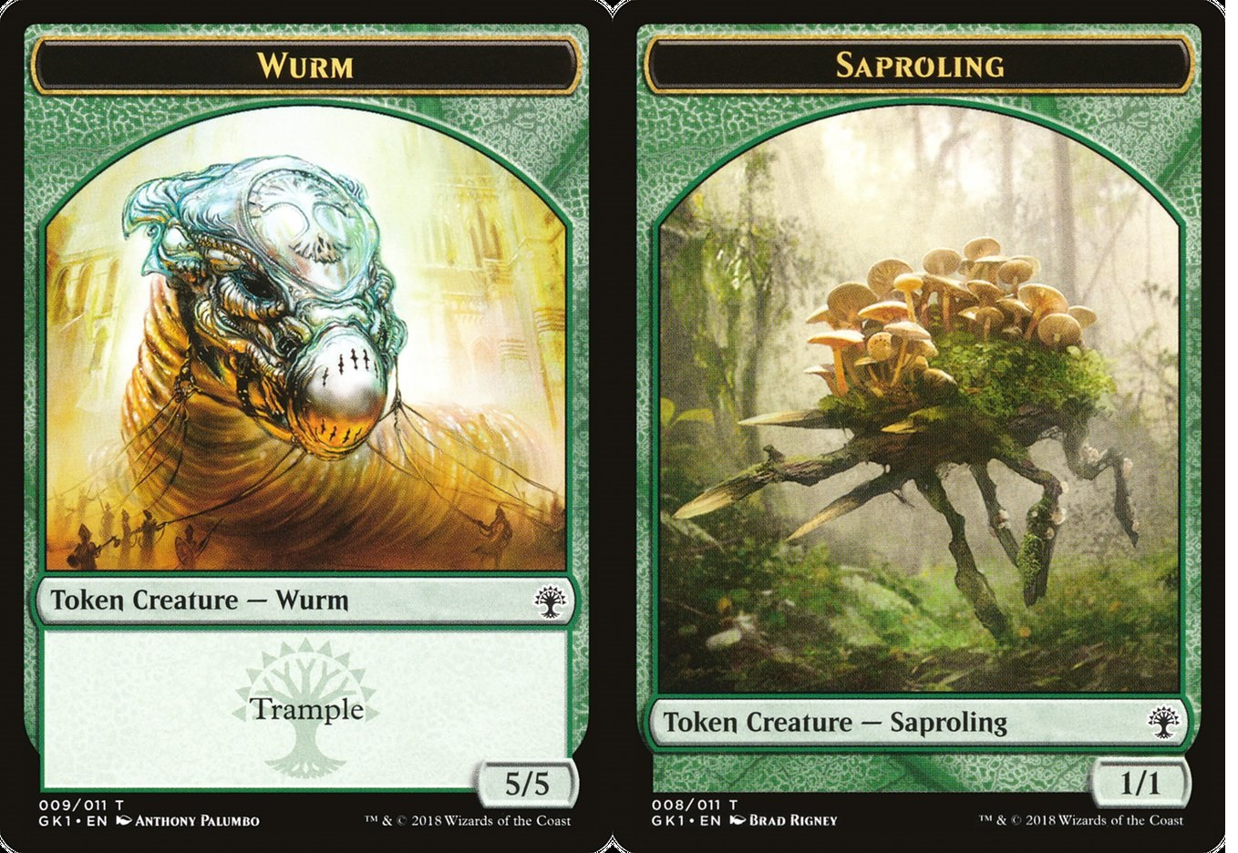 Wurm // Saproling Token