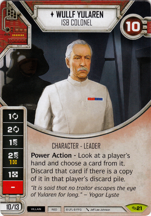 Wullf Yularen- ISB Colonel