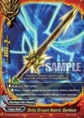 Deity Dragon Sword, Gardeus - S-BT02/0075 - Secret