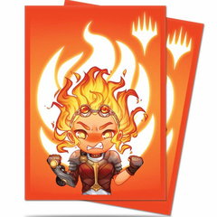 Ultra PRO - MTG Chibi Collection:Chandra Maximum Power Sleeves