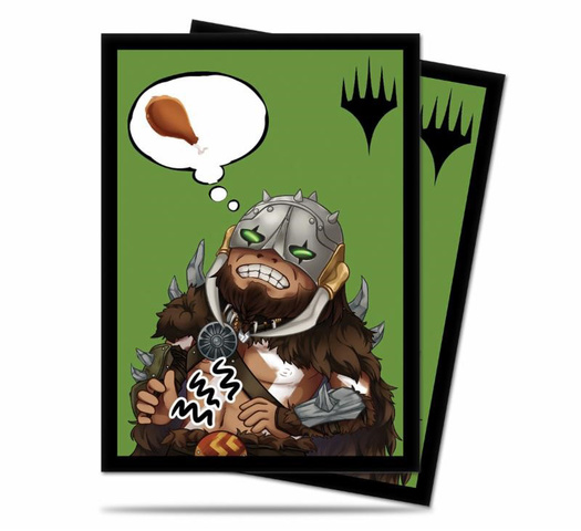 Ultra PRO - MTG Chibi Collection - Garruk Im Starving Sleeves