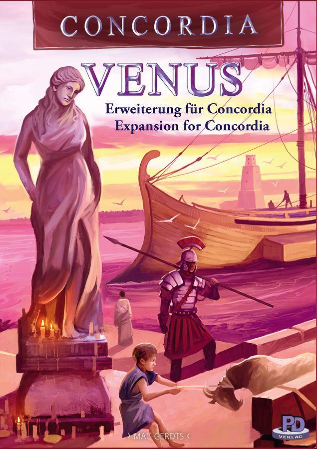 Concordia: Venus exp.