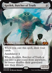 Kozilek, Butcher of Truth - Box Topper - Foil