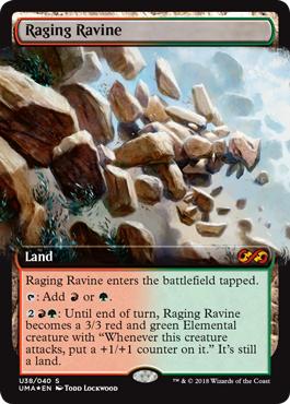Raging Ravine - Foil