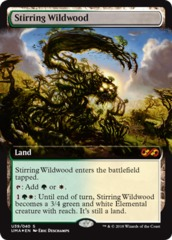 Stirring Wildwood - Foil on Channel Fireball