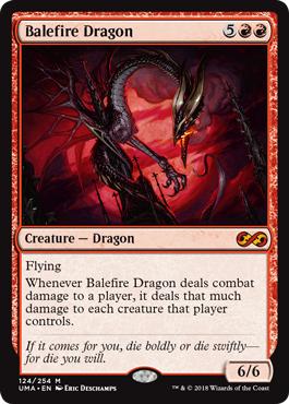 Balefire Dragon - Foil
